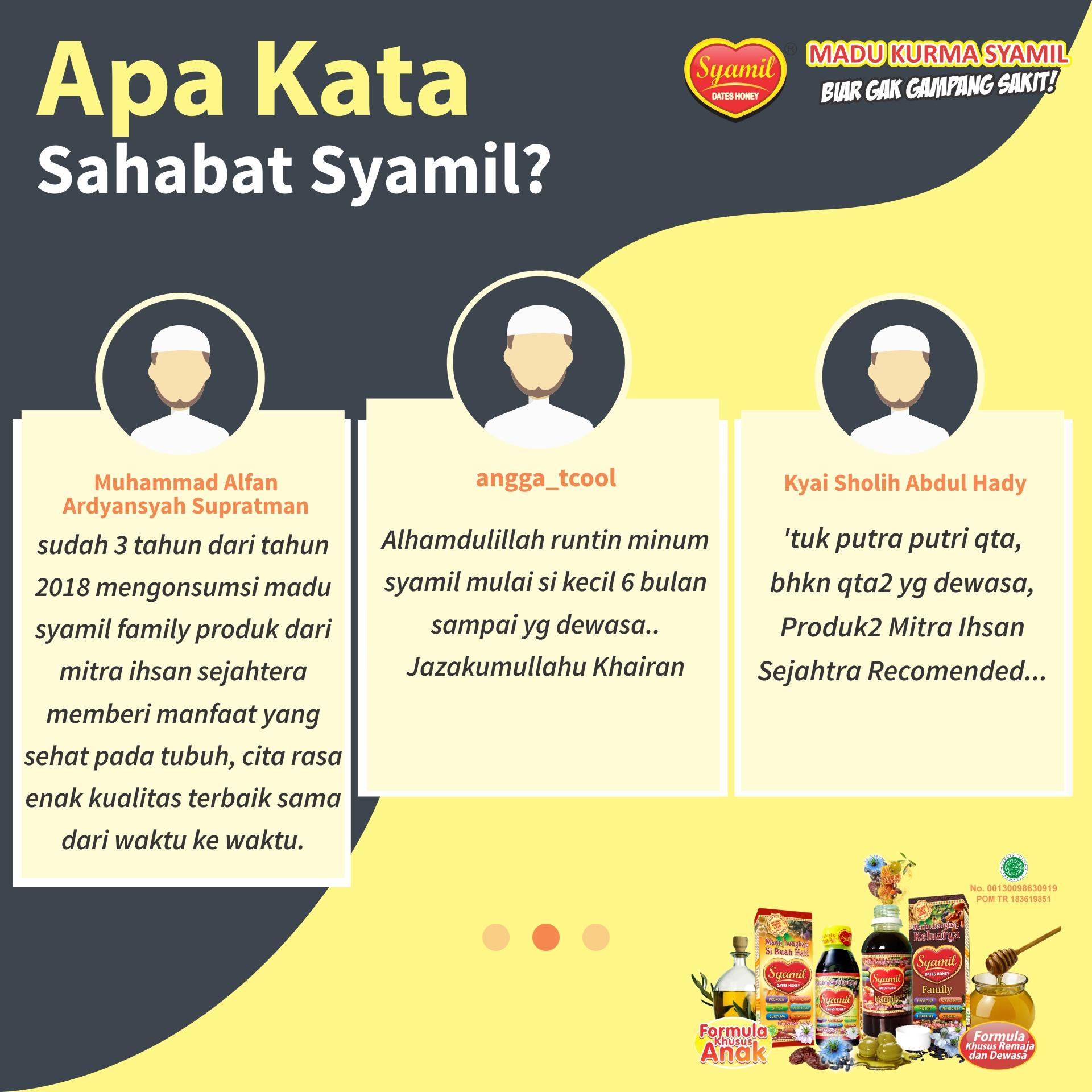 Testimoni Sahabat Syamil